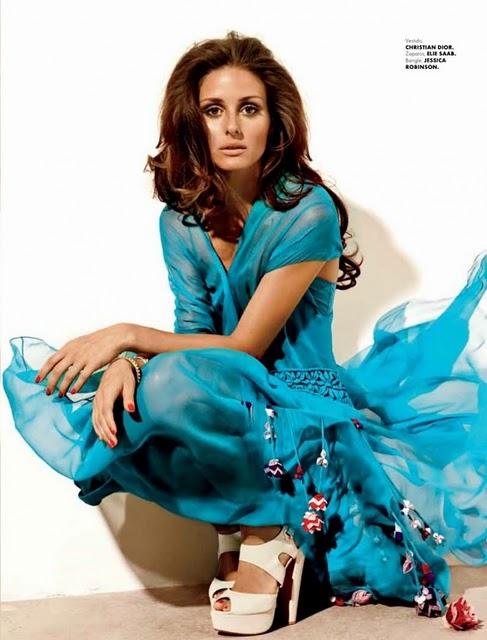 christian dior Olivia Palermo za Elle Mexico
