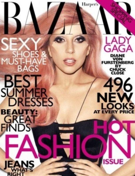 "Lady Gaga za ""Harper's Bazaar US"""