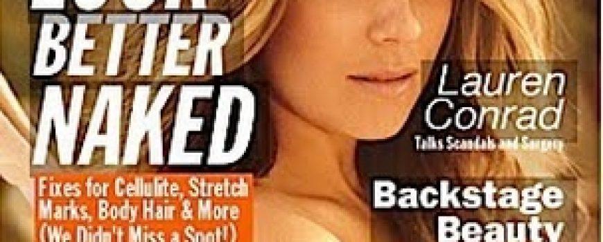 """Lauren Conrad za magazin """"Allure"""""""