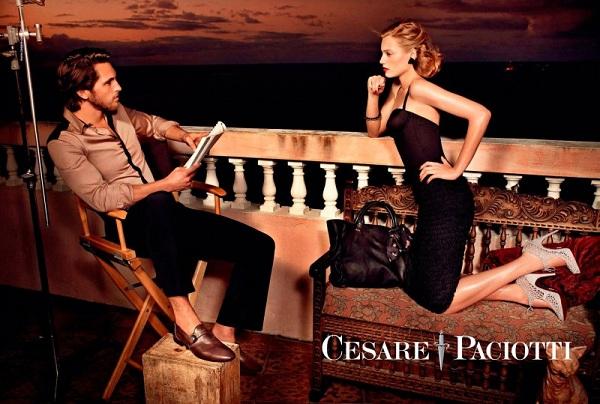 cp2 Cesare Paciotti reklamna kampanja za proleće/leto 2011.