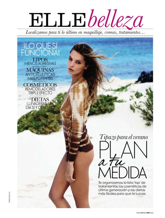 "daria werbowy12 Daria Werbowy za ""Elle Spain"" maj 2011."