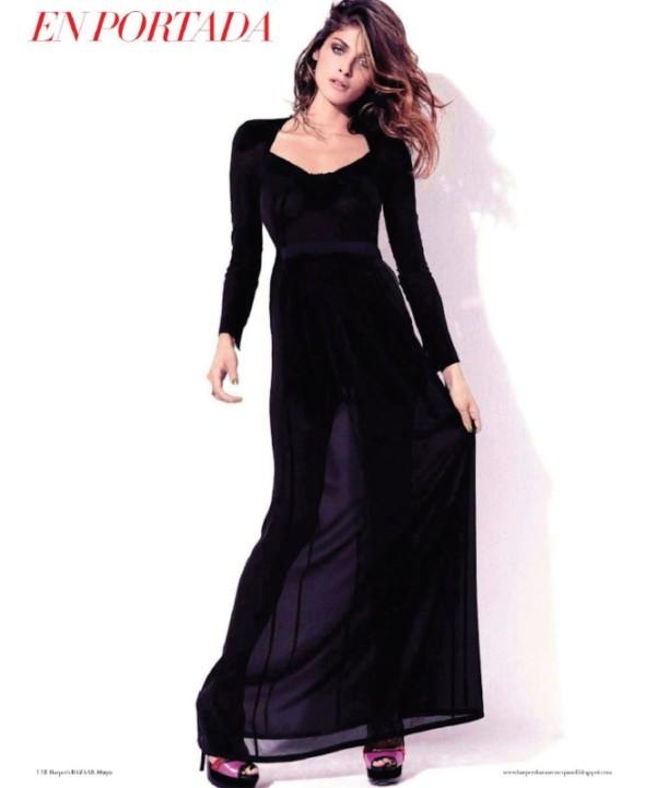 elisa sednaoui Elisa Sednaoui za Harpers Bazaar Mexico maj 2011.