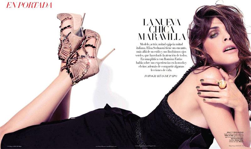 elisa sednaoui1 Elisa Sednaoui za Harpers Bazaar Mexico maj 2011.