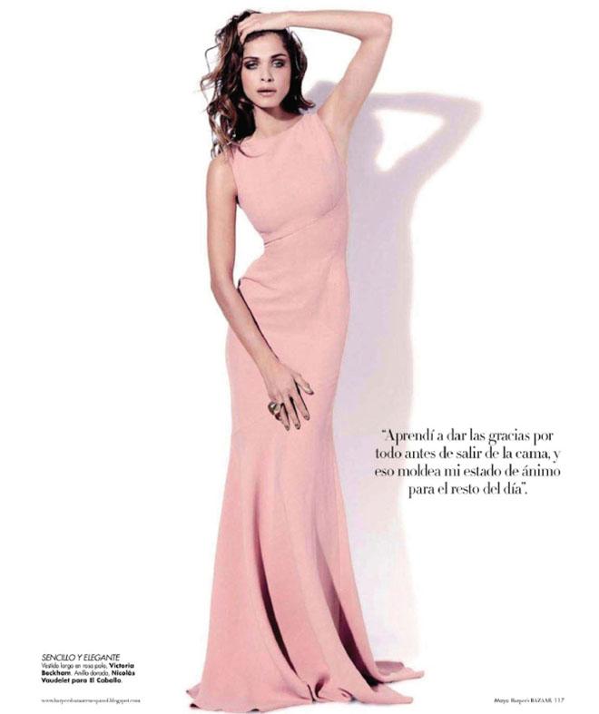 elisa sednaoui3 Elisa Sednaoui za Harpers Bazaar Mexico maj 2011.