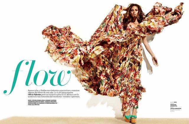 elle112modaoliviar Olivia Palermo za Elle Mexico