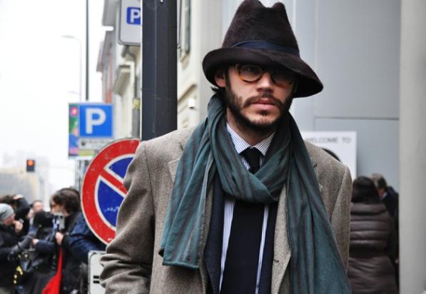 gq2011milan3 Obavezni detalj ovog proleća i leta za muškarce   gospodin šešir