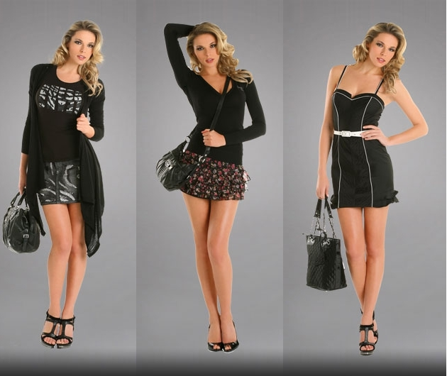 guess black code Lookbook Guess proleće/leto 2011.