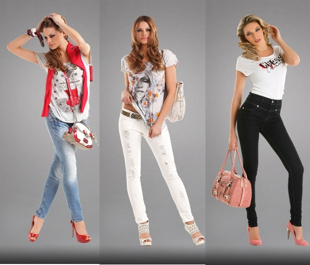 guess denim Lookbook Guess proleće/leto 2011.