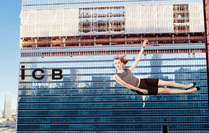 icb1 Karlie Kloss za iCB prolećnu kampanju