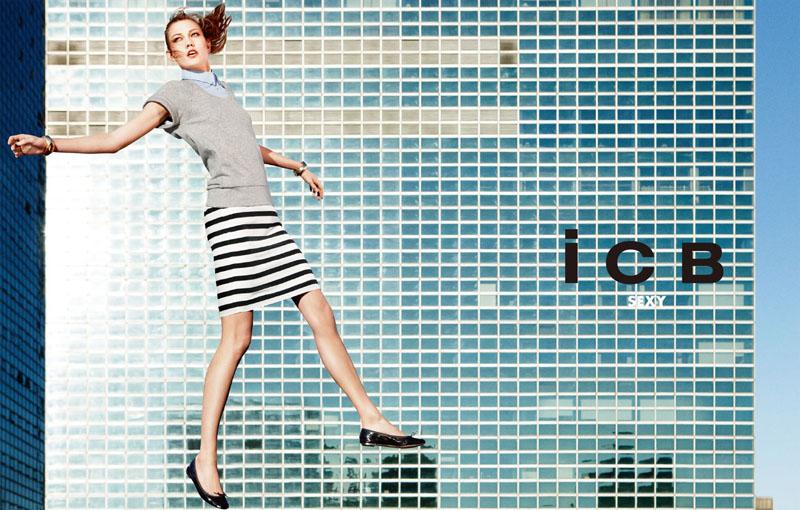 icb2 Karlie Kloss za iCB prolećnu kampanju