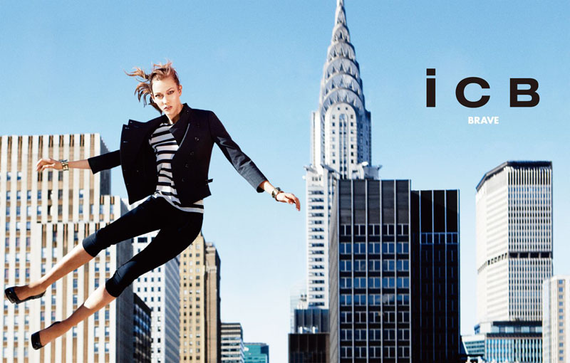 icb3 Karlie Kloss za iCB prolećnu kampanju