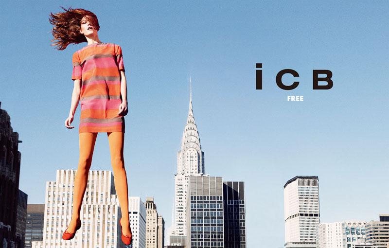 icb5 Karlie Kloss za iCB prolećnu kampanju