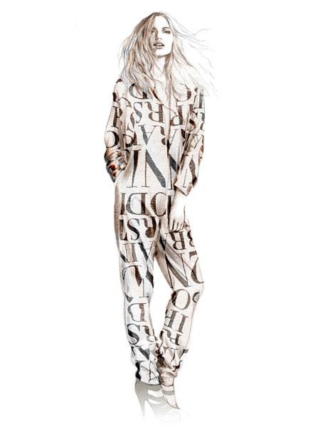 illu 01 lowres H&M   Fashion against AIDS