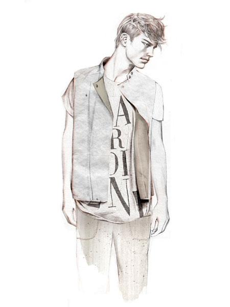 illu 04 lowres H&M   Fashion against AIDS