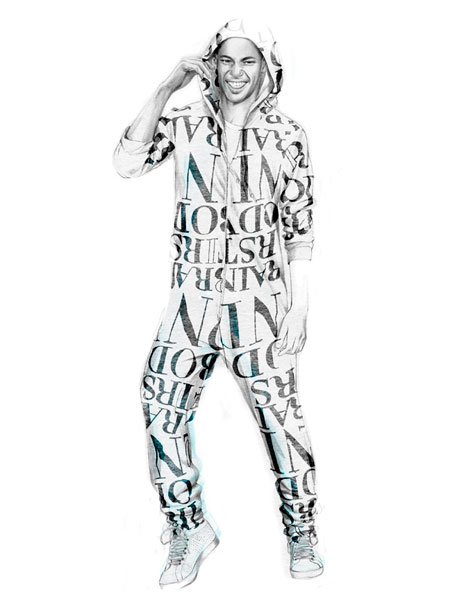 illu 06 lowres H&M   Fashion against AIDS
