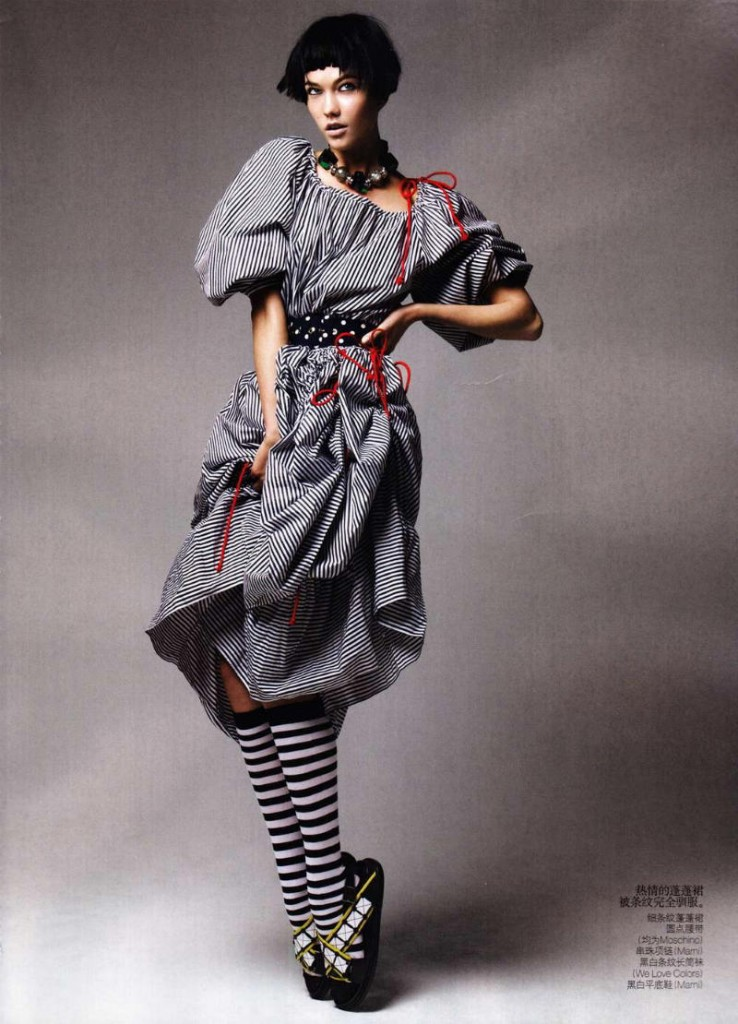karlie kloss4 738x1024 Vogue China maj 2011. by Patrick Demarchelier