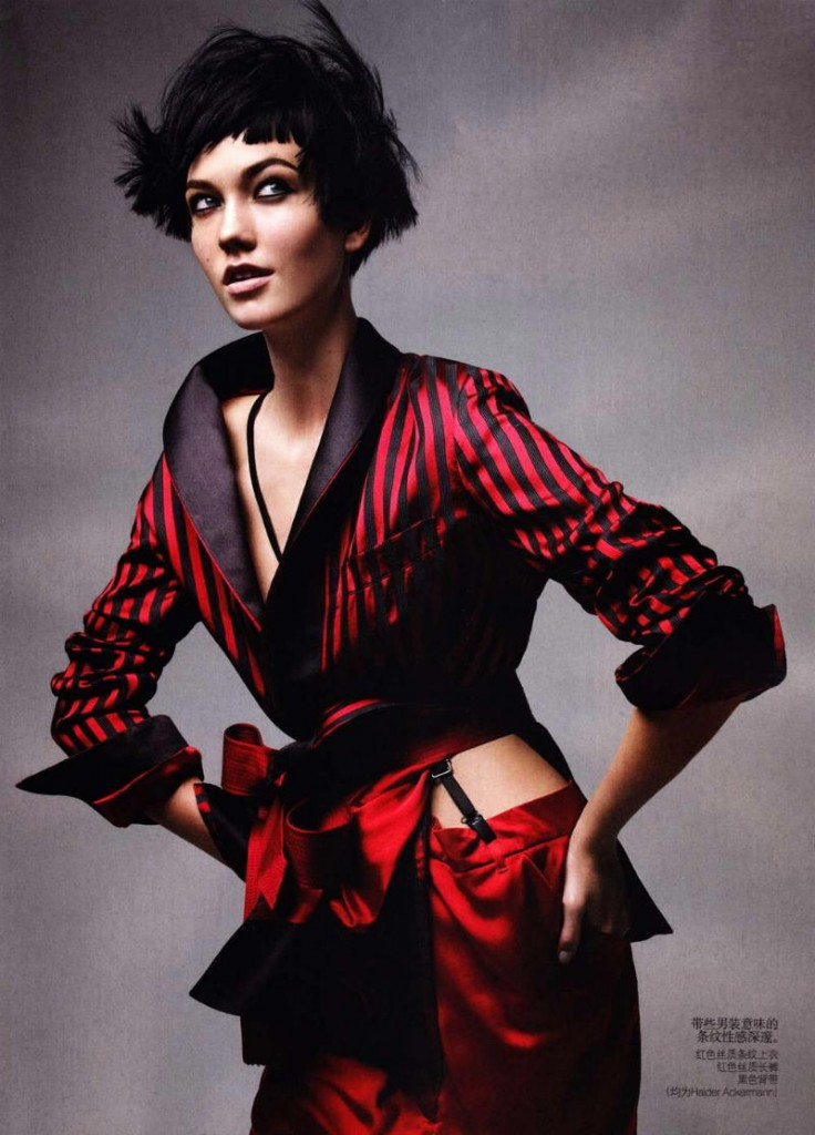 karlie kloss9 736x1024 Vogue China maj 2011. by Patrick Demarchelier