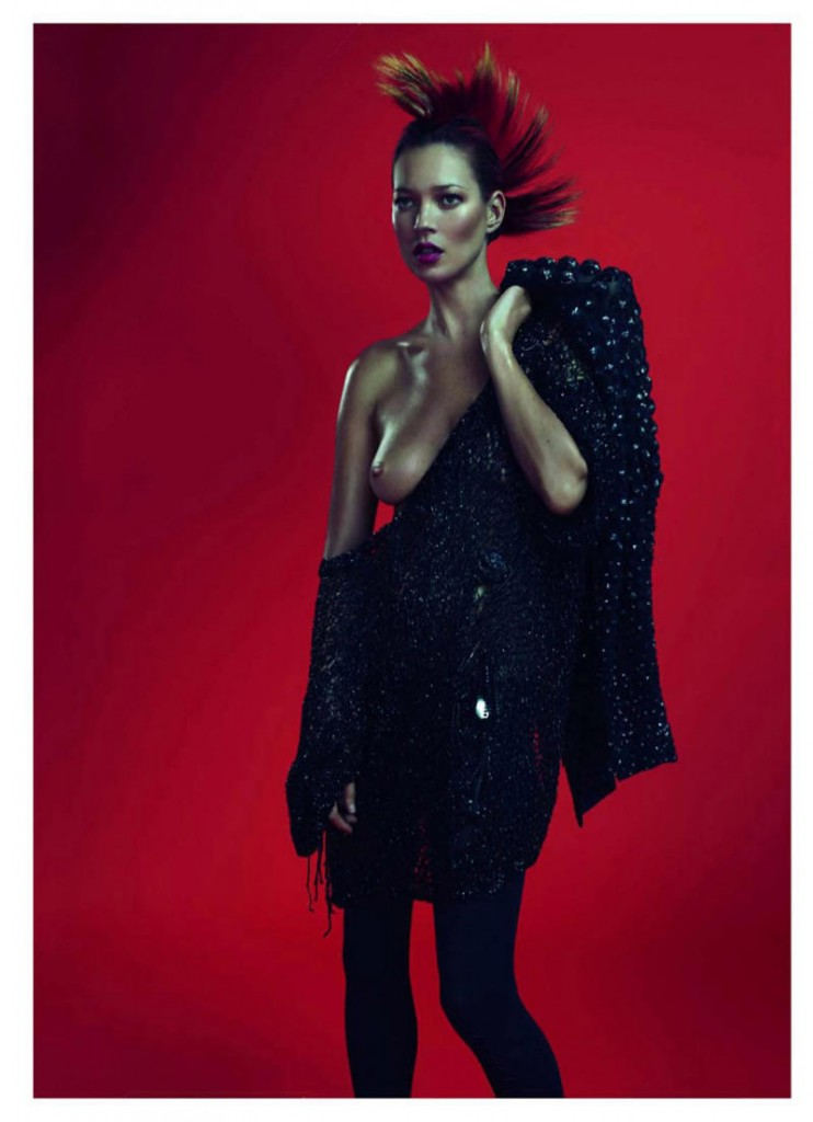 kate moss111 742x1024 Kate Moss za Vogue Paris
