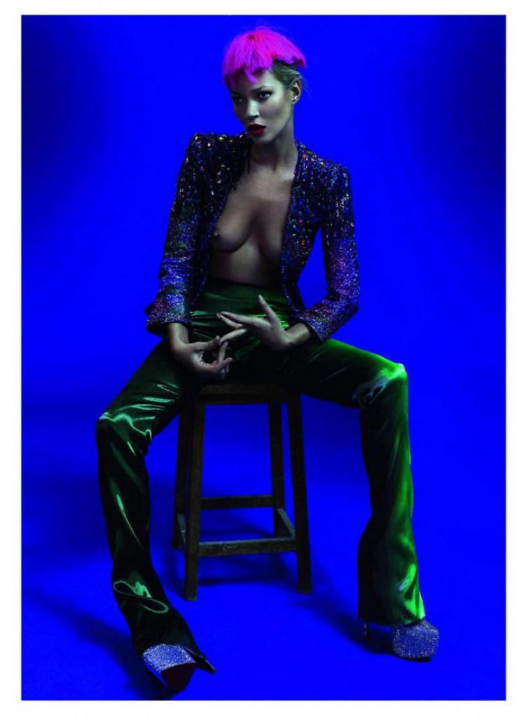 kate moss2 742x1024 Kate Moss za Vogue Paris