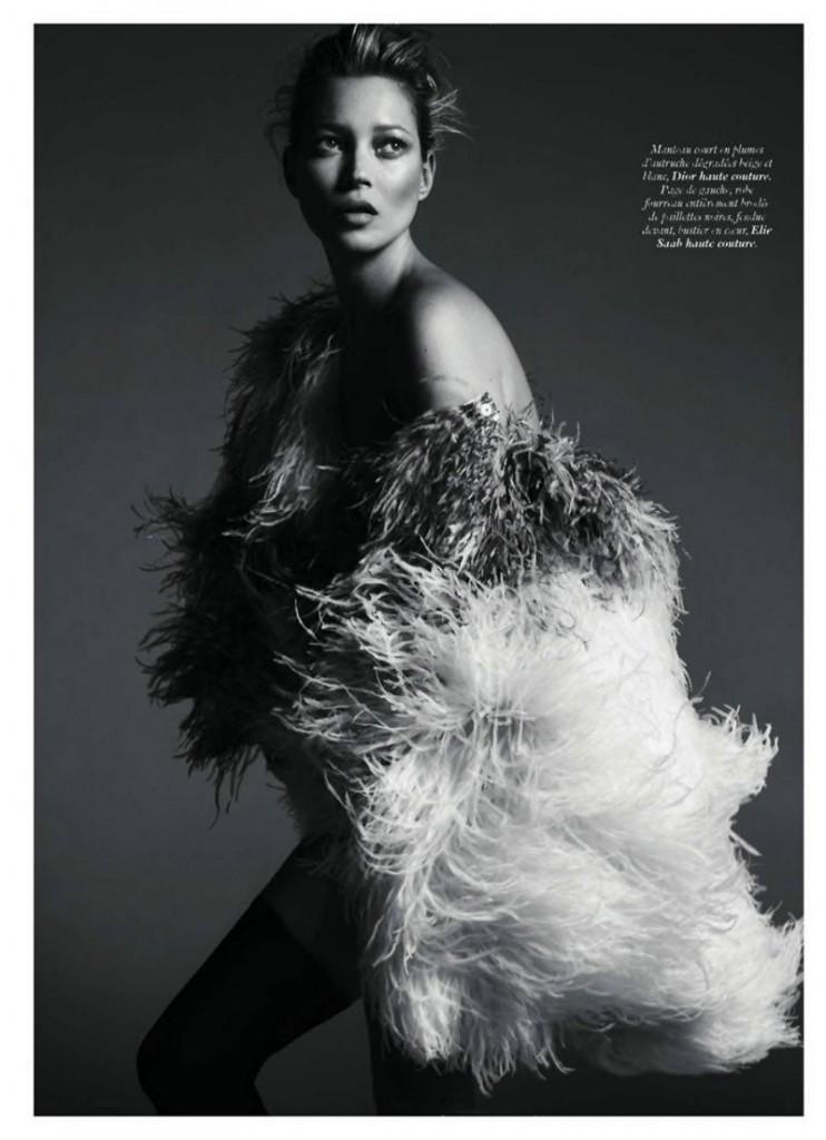 kate moss3 742x1024 Kate Moss za Vogue Paris