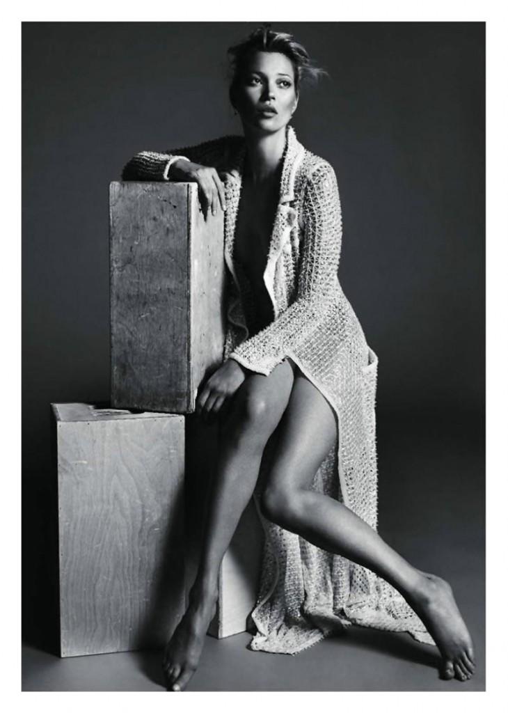 kate moss6 730x1024 Kate Moss za Vogue Paris