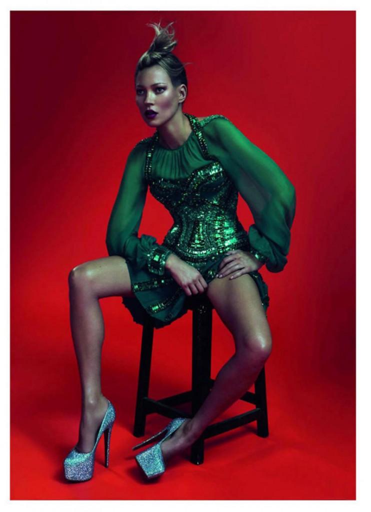 kate moss7 742x1024 Kate Moss za Vogue Paris