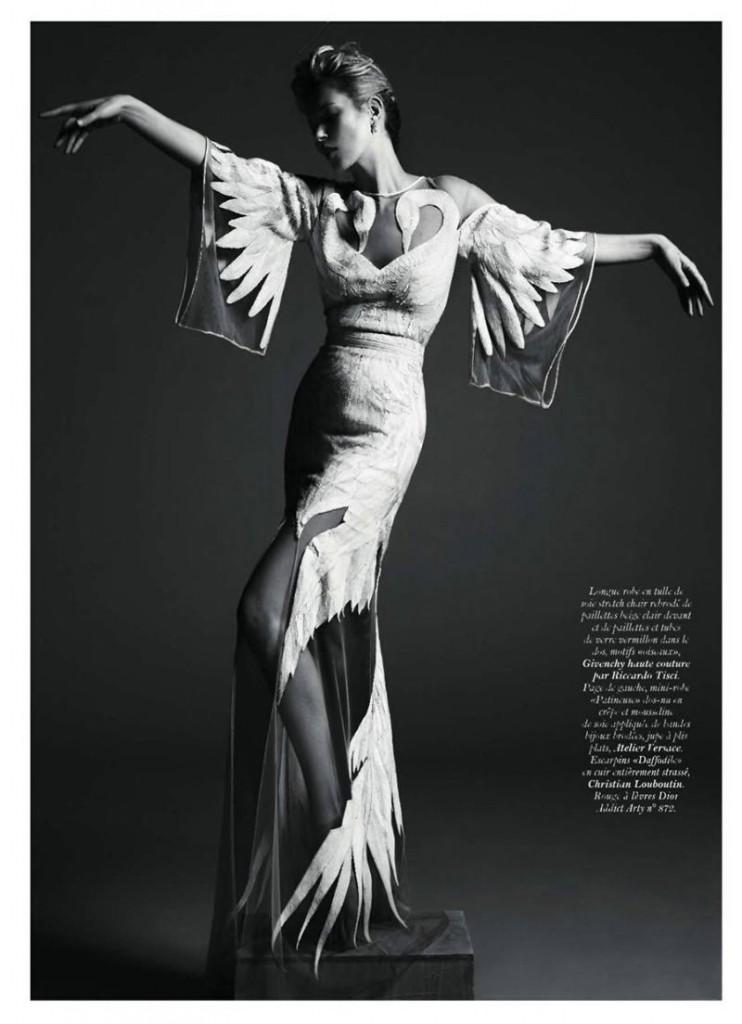 kate moss8 742x1024 Kate Moss za Vogue Paris