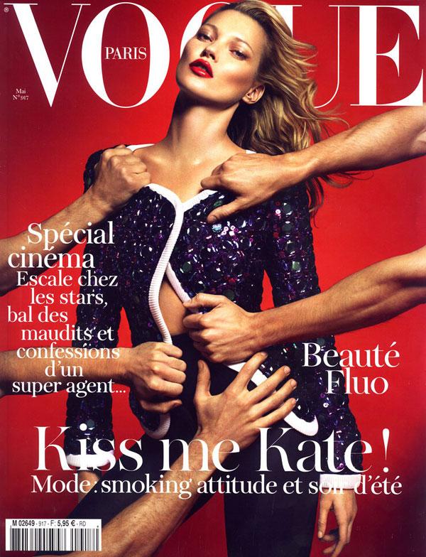 katecoverp Kate Moss za Vogue Paris