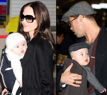 knox and vivienne Angelina i Bred roditelji po sedmi put?