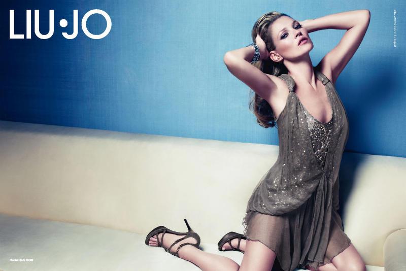 liujo10 Kate Moss za Liu Jo proleće 2011.