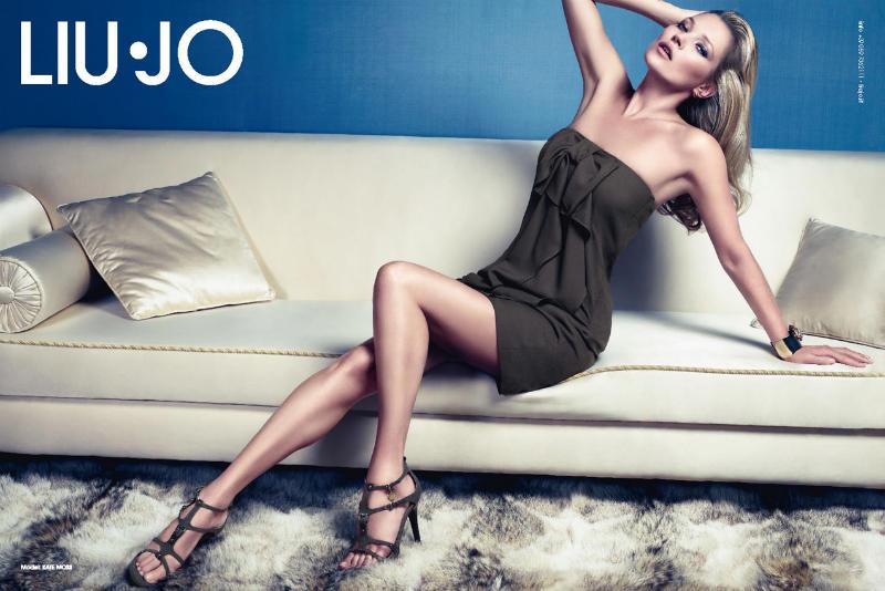 liujo6 Kate Moss za Liu Jo proleće 2011.