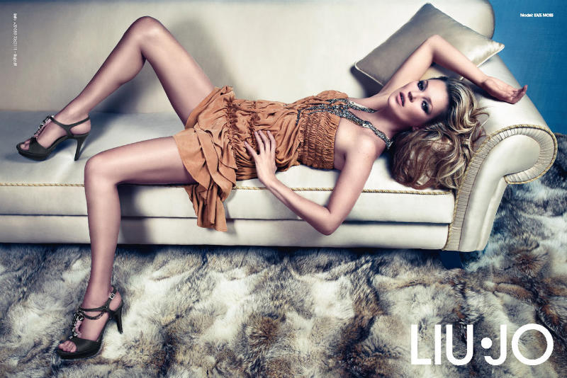 liujo7 Kate Moss za Liu Jo proleće 2011.
