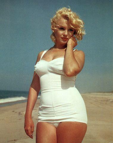 marilyn monroe swimsuit Renoir, Monroe i debele devojke