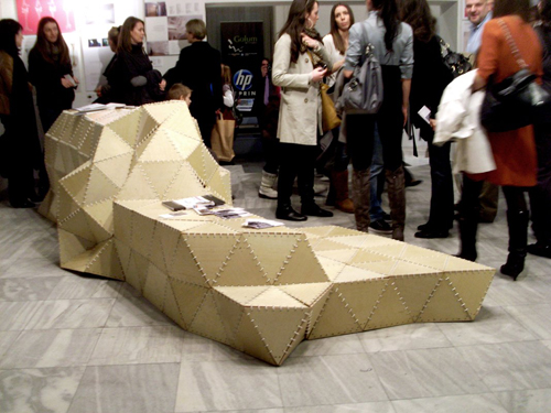modelart team origami klupa 33. Salon arhitekture   Arhitektura oko nas