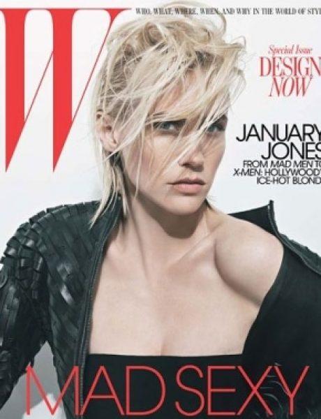 """January Jones za """"W Magazine"""""""