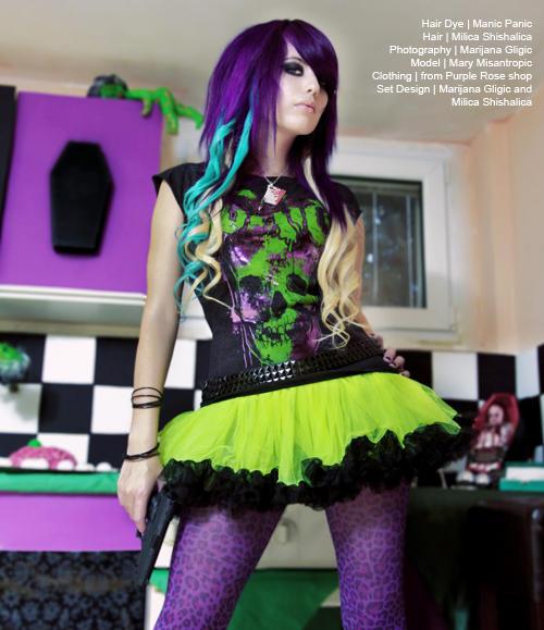 purple rose 1 Wannabe intervju: Milica Šišalica