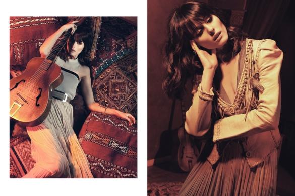 right Yigal Azrouel tunic top J. Mendel skirt1 Olivia Palermo za StyleCaster