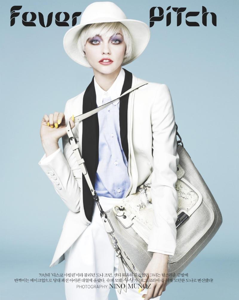 sasha pivovarova1 Sasha Pivovarova za Vogue Korea