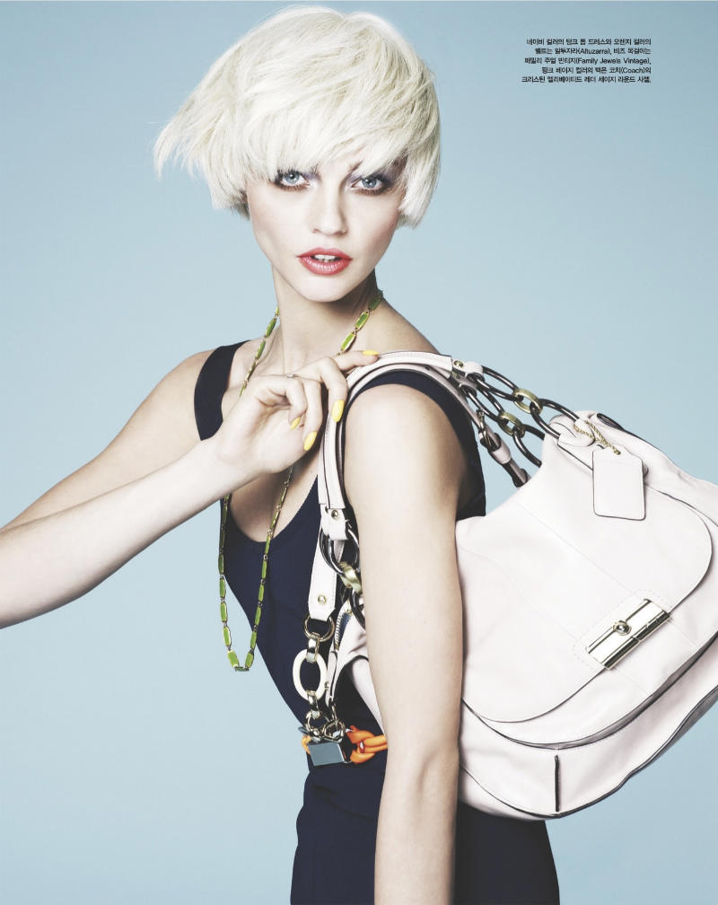 sasha pivovarova5 Sasha Pivovarova za Vogue Korea