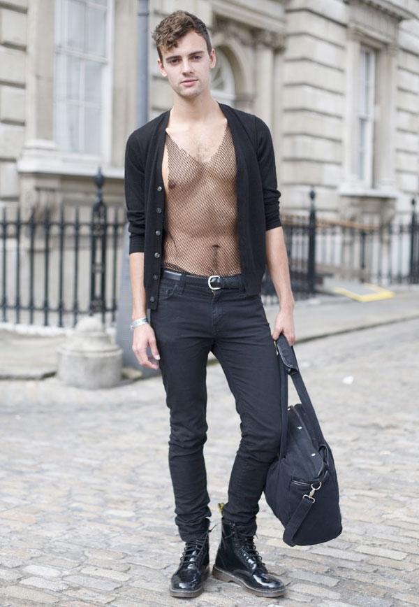 sheermen Street style man