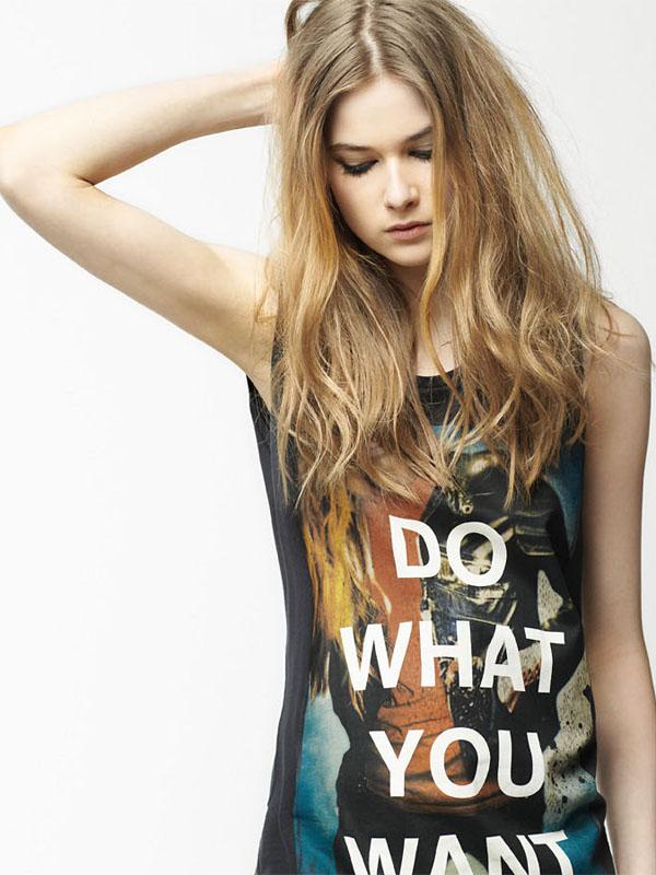 zara2 Lookbook Zara TRF za april 2011.