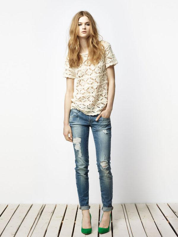 zara9 Lookbook Zara TRF za april 2011.