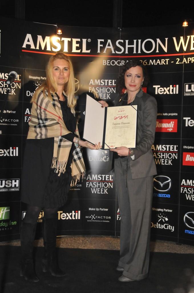 zorica karanovic i tijana pavlov 680x1024 29. Amstel Fashion Week – svečana dodela nagrada