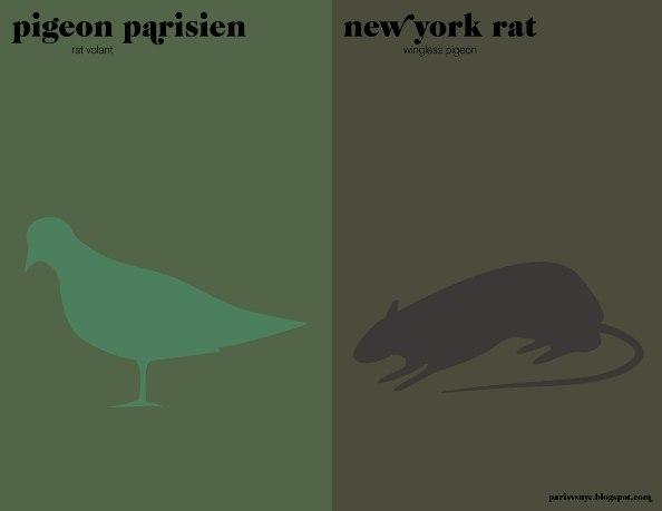 09pigeon Pariz vs Njujork