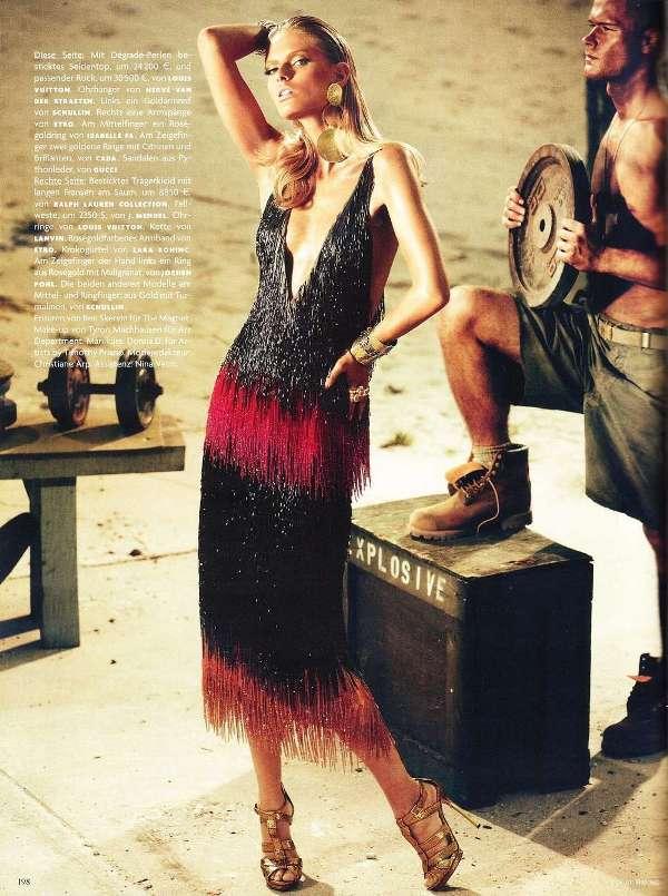 101 Julia Stegner za nemački Vogue