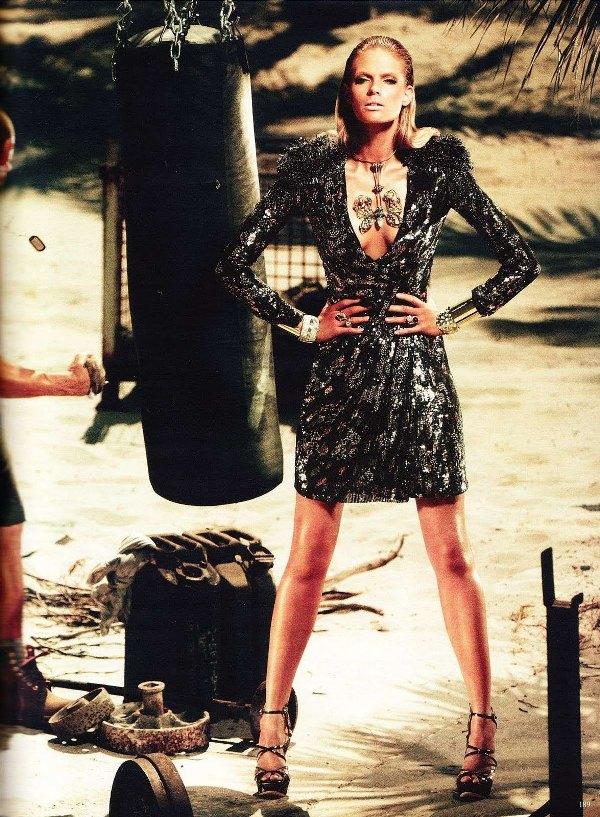 110 Julia Stegner za nemački Vogue
