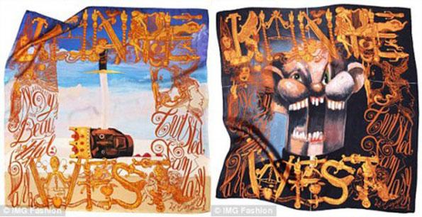 2ccv0it Kanye West & M/M (Paris) kolekcija marama