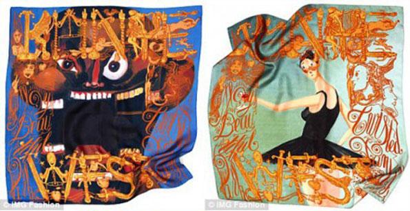 2j2eolt Kanye West & M/M (Paris) kolekcija marama