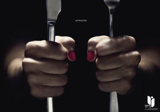316 10 najšokantnijih kampanja protiv anoreksije