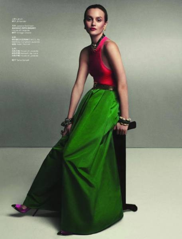321 Leighton Meester za L'Officiel China